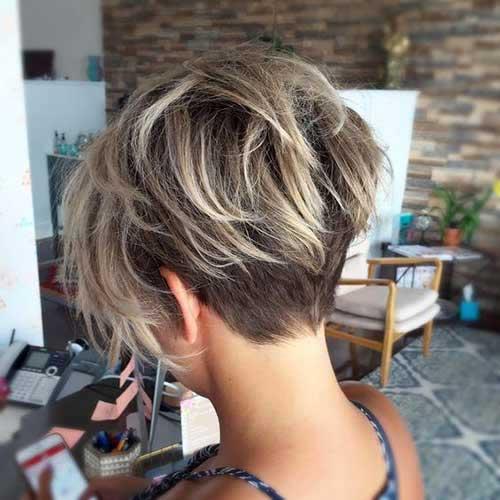 cabelo loiro curto