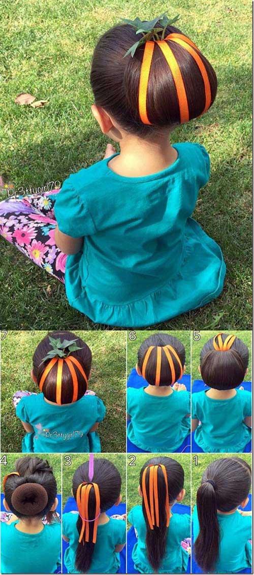 penteados especiais para halloween
