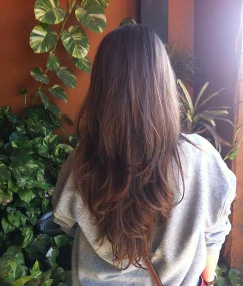 cabelo de mulher em v degrade