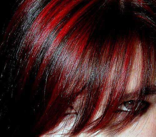 franja avermelhada