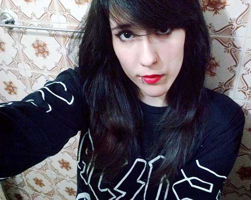 cabelo cor grafite