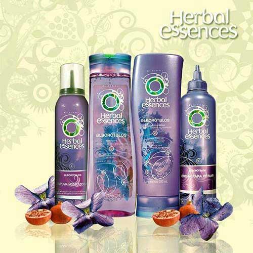 shampoo dom essencias de erva