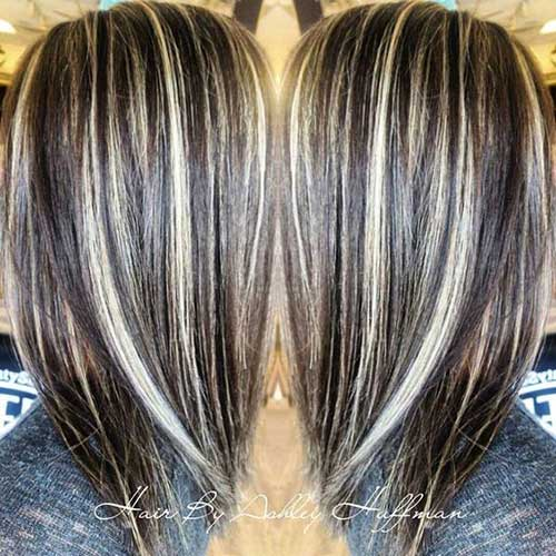 Highlights To Hide White Hair What Is The Best Way To