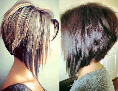 cabelos invertidos curtos