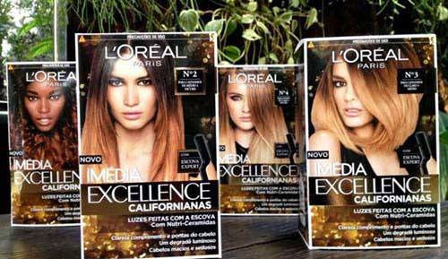 mechas californianas da loreal