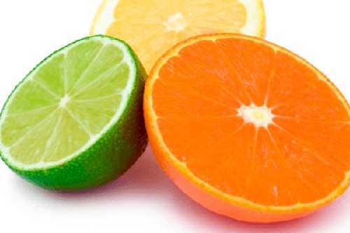frutas citricas hidratam