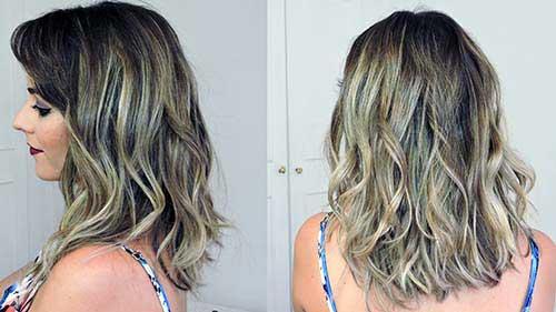 cabelos medios loiros