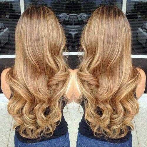 cabelo loiro mel