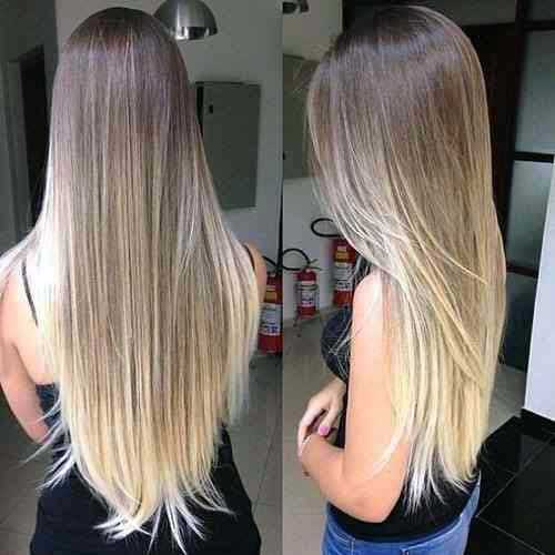cabelo ombre loiro