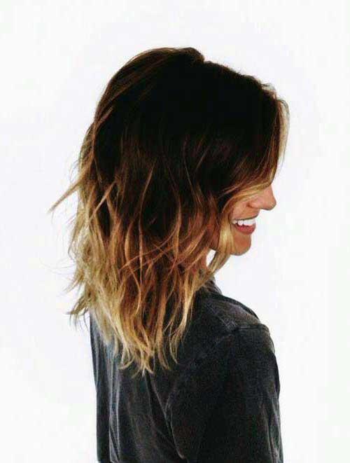 cabelos com ombre curto