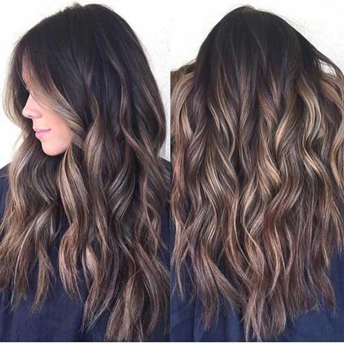 cabelos ombre dourado