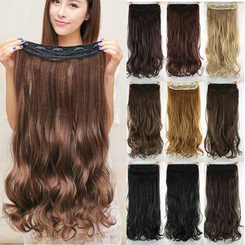 apliques de cabelo tic tac de 80 cm