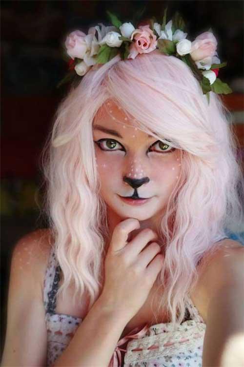penteados halloween para mulheres jovens