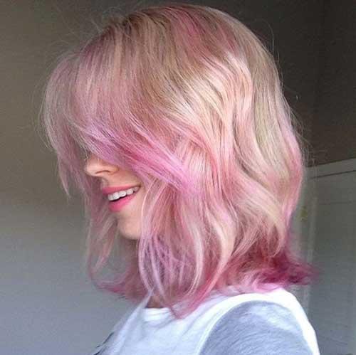 cabelos rosinhas e loirinhos