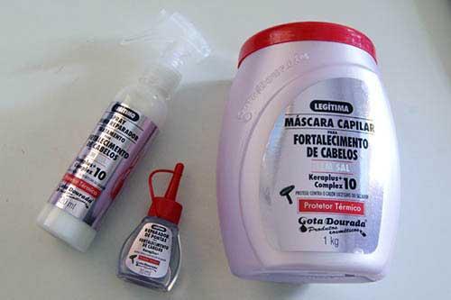 shampoo com selagem termica