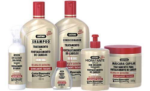 produtos para cabelos quimicamente tratados