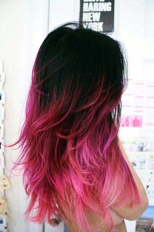 cabelo rosa californiano