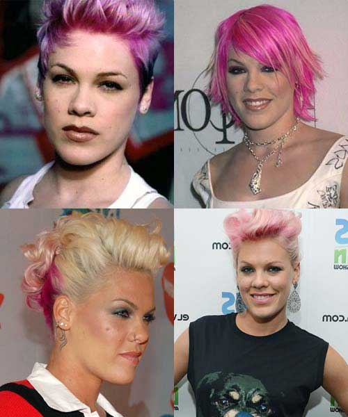coloridas de rosa