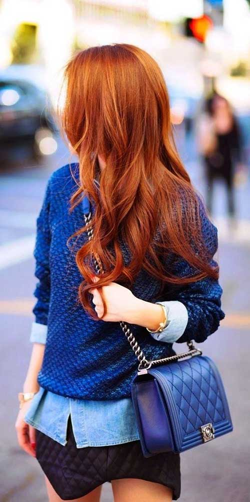 cabelo cor de fogo é o cabelo ruivo alaranjado