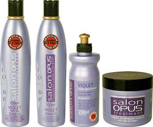 shampoo linha salon line
