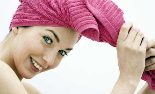 como secar os cabelos