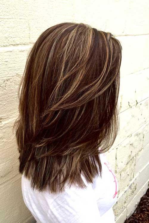 cabelos com mechas slice