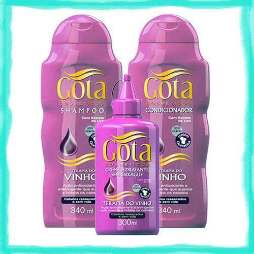 shampoo com uvas fermentadas