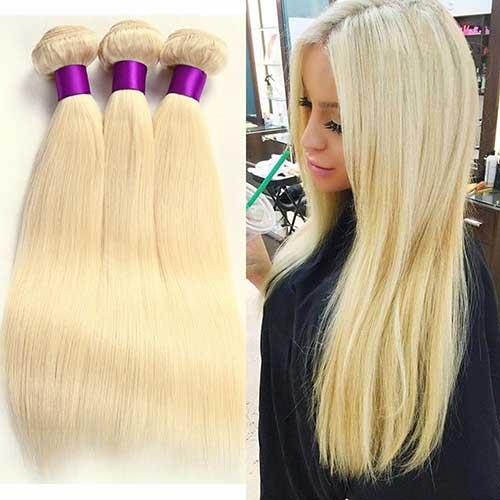 cabelos loiros tic tac de 70 centímetros