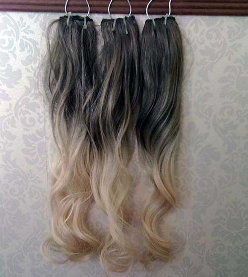 ombre hair tic tac
