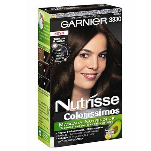 cabelos com tinta garnier
