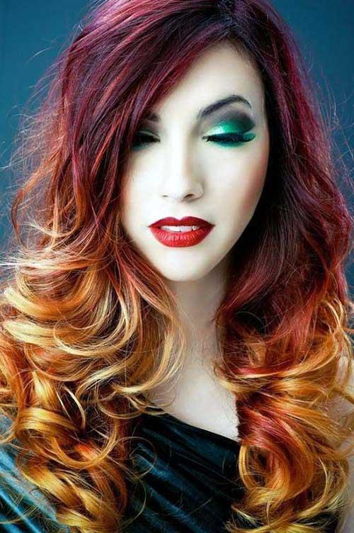 californian fire hair