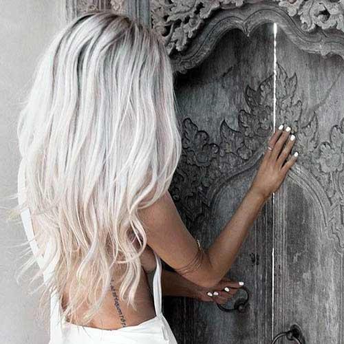 cabelo loiro branco bonito