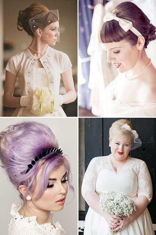 penteado para noiva anos 1960