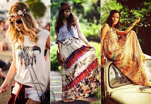 penteados de hippie dos anos 60