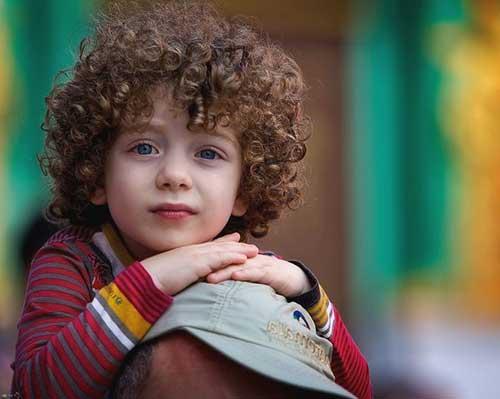 penteado facil para cabelo cacheado infantil masculino