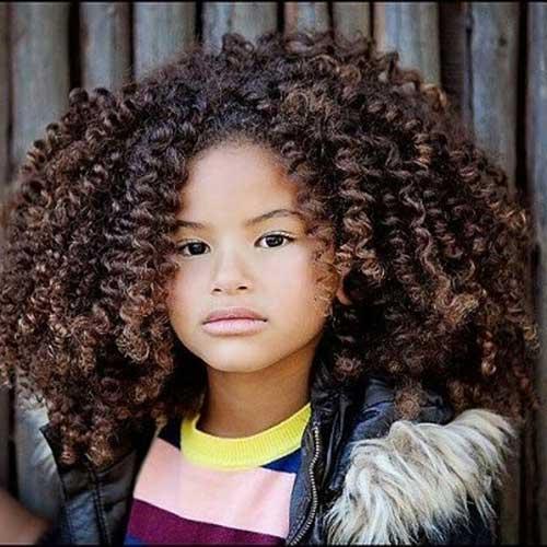 penteado facil pra cabelo cacheado infantil feminino