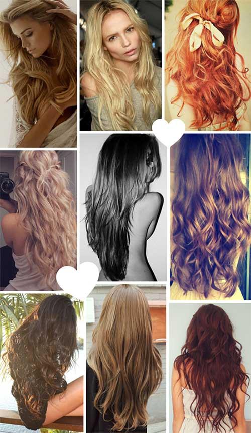 fotos de penteados de cabelos ondulados naturais