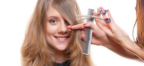 cortar o cabelo na hora certa