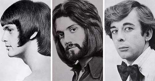 cabelo masculino anos 60 com ou sem barba