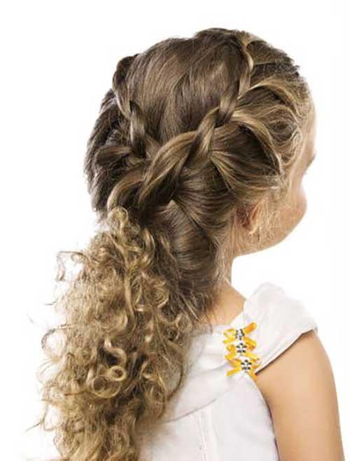 cabelo bonito de crianca