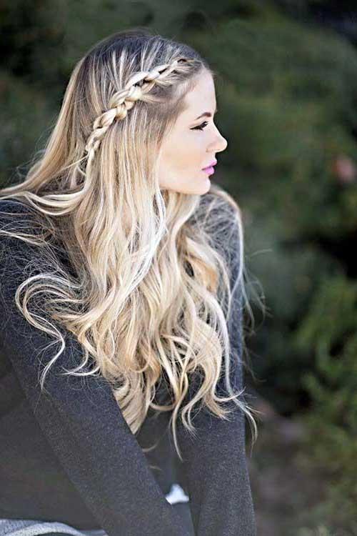 cabelos ondulados naturais