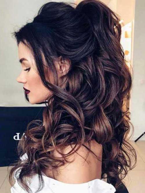 cabelo semipreso ondulado natural e bonito