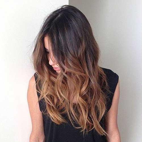 cabelo na cor do doce gostoso