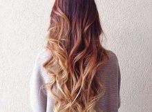 cabelo com luz californiana