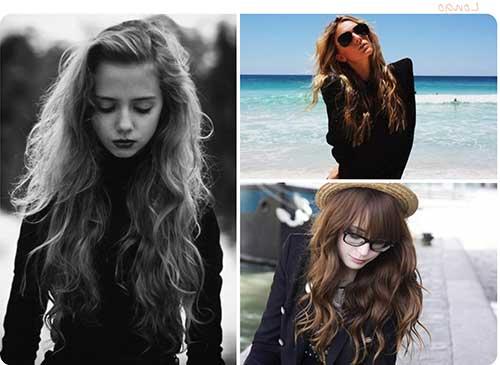 cabelo ondulado tumblr