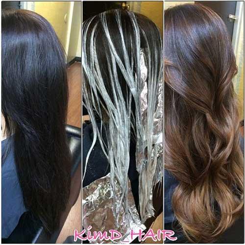 cabelos pretos resultados bons