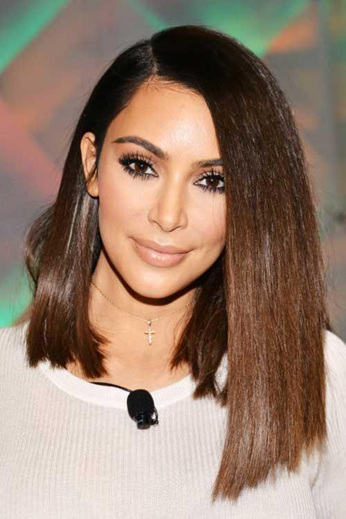 corte de cabelo com comprimento irregular