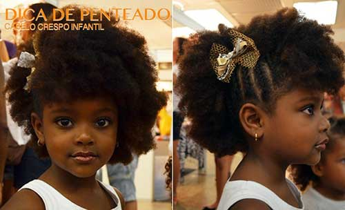 estilo daminha afro