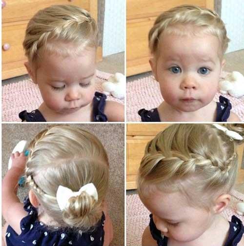 penteado para daminha bebe de 2 anos