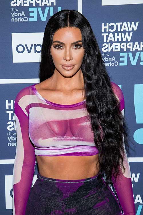 cabelo comprido e ondulado - look mais natural pra 2019